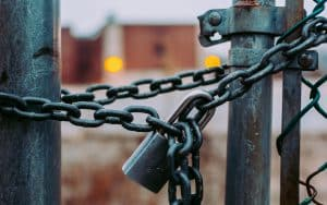 Symantec Zertifikat Schloss an Kette