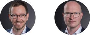 Mario Jandeck und Eric Range von Enginsight