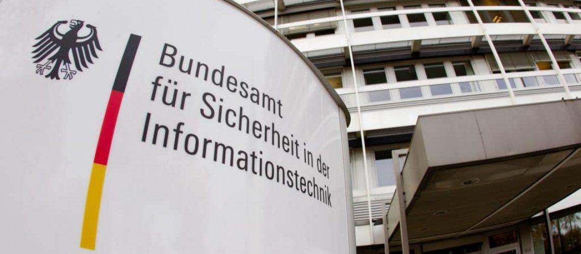 Eingang des Bundesamt für Sicherheit in der Informationstechnik